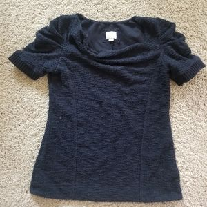 Anthropologie Postmark Ruched Top